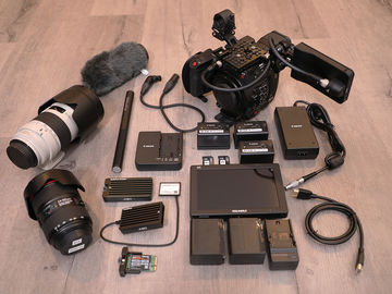 Rent: Canon EOS C200 —  2+ Hours RAW w/ TWO L-SERIES LENSES!