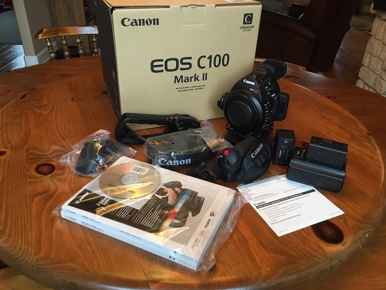 For Sale: Canon EOS C100 Mark II | ShareGrid