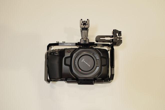 Blackmagic Pocket Cinema 4K w/ Lens + Batteries