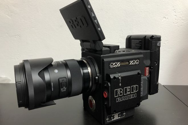 RED Raven Dragon 4.5K KIT with SIGMA 18-35 + 360GB MiniMag
