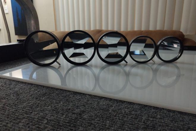 6-Piece Unique kaleidoscope / Fractal Lens Set