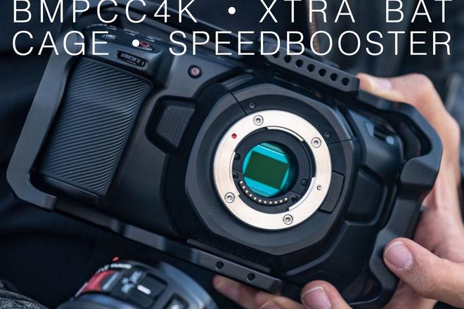 BMPCC4K  | Speedbooster + Cage