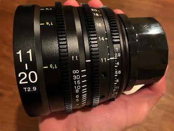 Rent: Tokina Cinema 11-20mm T/2.9 Wide Angle Zoom Lens PL Mount