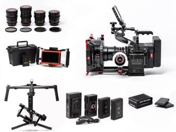RED Raven Dragon 4.5K + Ronin + Lenses + Wireless Monitor