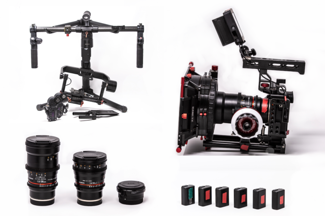 SPECIAL!!! Sony A7sii kit + RONIN M + LENSES  + Nucleus-M FF