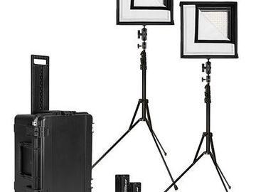 Westcott Flex Daylight LED Mat 2-Light Cine Travel Kit (1 x