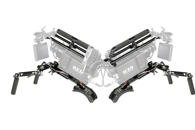 2x Heavy Duty Shoulder Rig + Dovetail, 15mm / 19mm rods