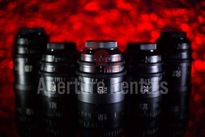 Sigma Cine FF High Speed Primes 5 Lens Set (20,24,35,50,85)