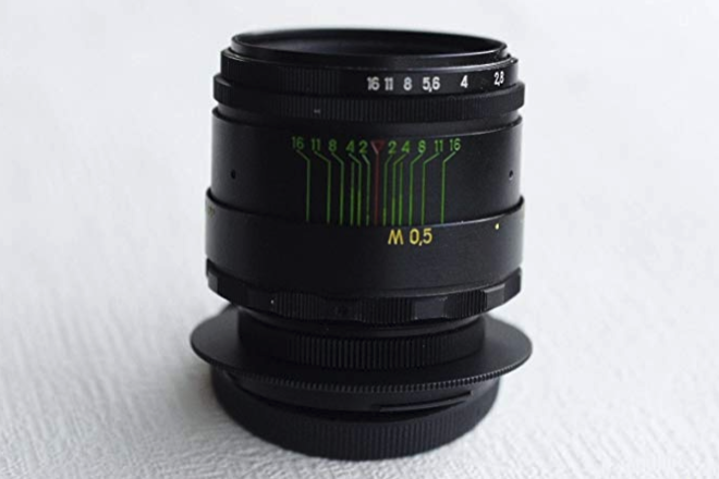 Helios 44-2 58mm Vintage lens f/2 for Canon EOS