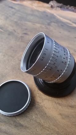 1971 VINTAGE ANGENIEUX 25mm F0.95 16mm c-mount cine lens