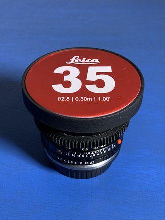 Leica R 35mm f/2.8 Cinevised Lens