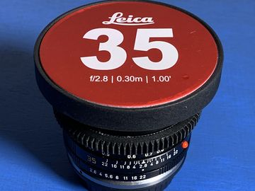 Leica R 35mm f/2.8 Cinevised Lens
