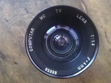 Rent: Computar 4mm f1.4 C-Mount