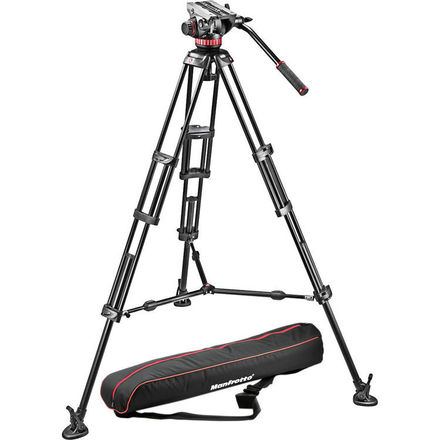 Manfrotto 546B Video Tripod with 502 Fluid Head