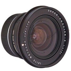 Leica Super Angulon - R 21mm f/4 Lens