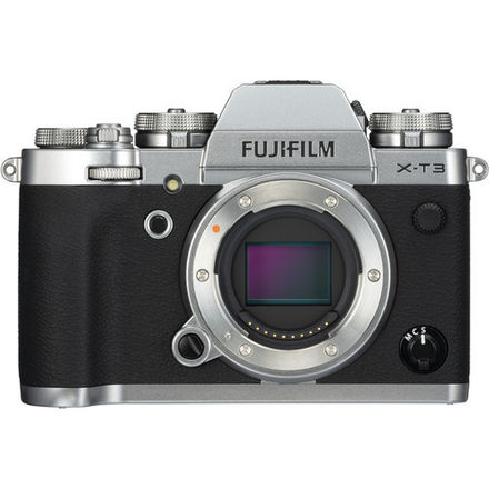 Fuji X-T3 (Silver, Body Only)