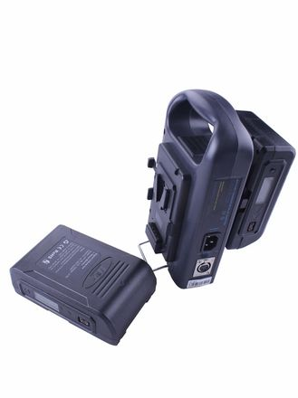 2x IDX Lanparte V-mount Batteries Charger Combo Battery Kit