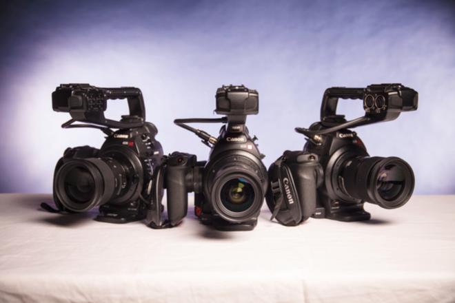 (QUAD 4x) Canon EOS C100 Cinema Camera Package
