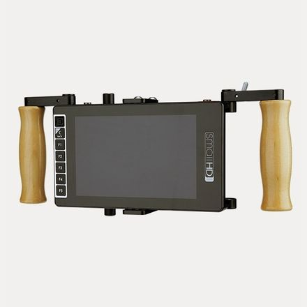SmallHD 703 UB w/ Wooden Camera Director's Monitor Cage v2