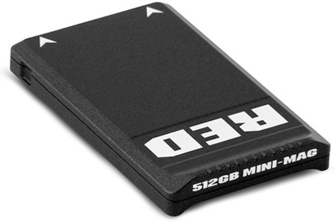 RED Mini-Mags (2x 512gbs) w/Mini-Mag Card Reader