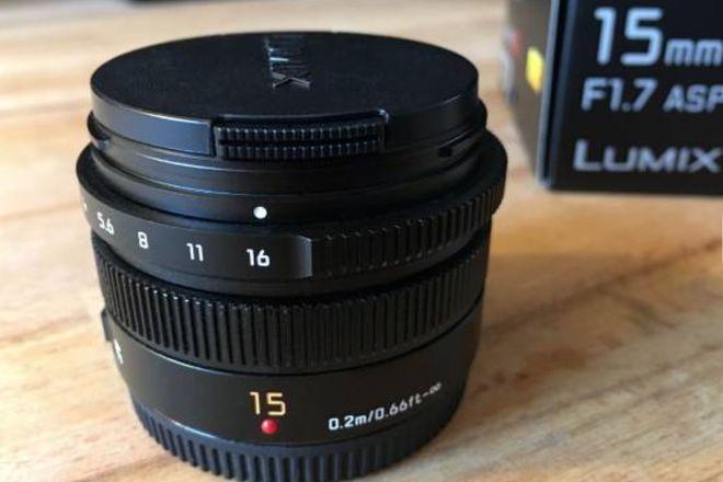 Like new Leica Panasonic 15mm f1.7