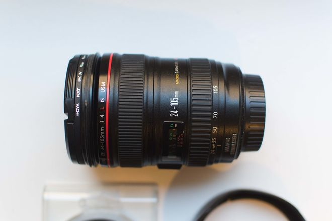 Canon EF 24-105mm f/4 L IS USM with Hoya Filters