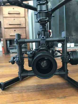 MoVI Freefly M5 + Android tablet