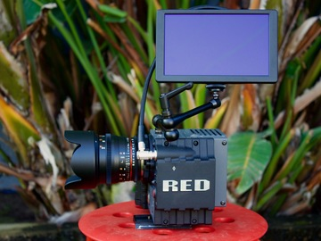 Rent: RED Scarlet X Mysterium with Canon Mount