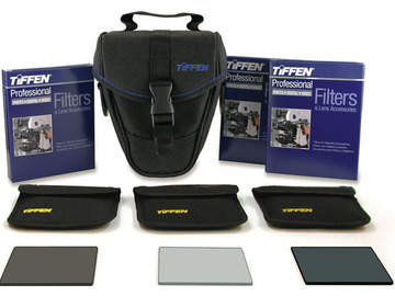 """Rent: Tiffen 4 x 4"""" (4mm thick) DV Select Filter Kit 3 Filters"""