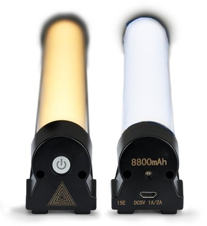 "Kit of 2 Quasar 14"" Battery-Powered LED Tubes"