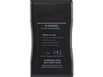 Varizoom S8080S 95Wh V-Mount Battery