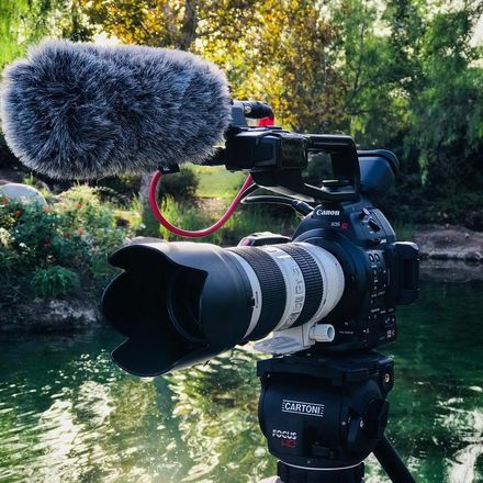 Canon EOS C100 Mark II PACKAGE