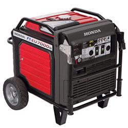 (1 of 2) Honda 7000W Inverter Generator w/ 60A Bates Paddle