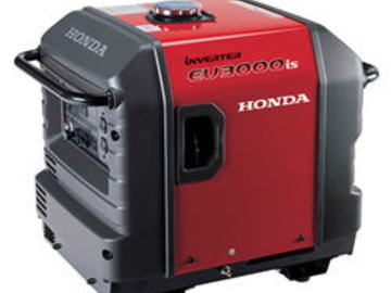Rent: Honda 3000W Inverter Generator