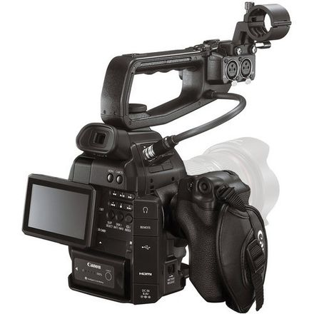 Canon C100 EF Mount w/ Hand Grip