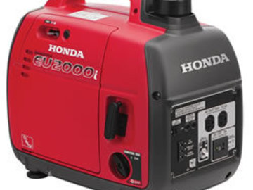Rent: (2 of 2) Honda 2000W Inverter Generator