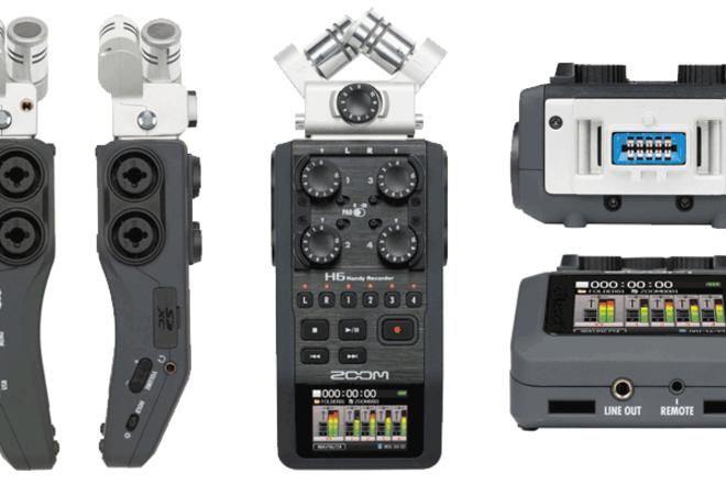 Zoom H6 Handy Recorder + Sennheiser EW 100 G3