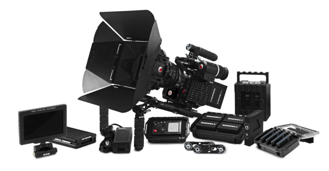 RED Epic Dragon w/ accessories