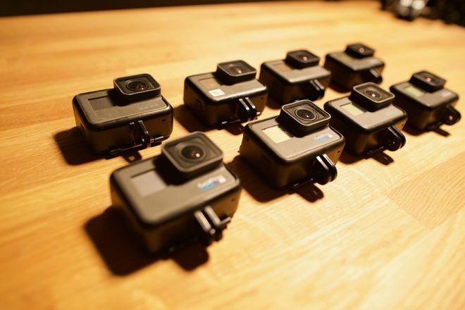 8 Pack - GoPro HERO Package (3xHERO7, 2xHERO6, 3xHERO5)