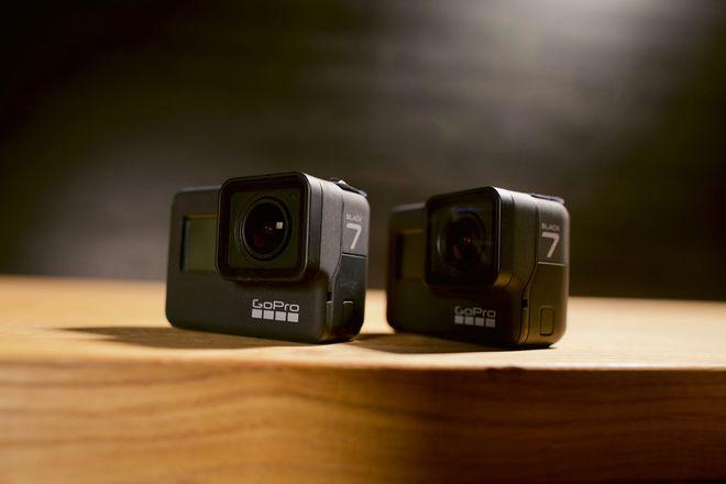 2x GoPro HERO7 Black - Two Pack - Multiple Accessories