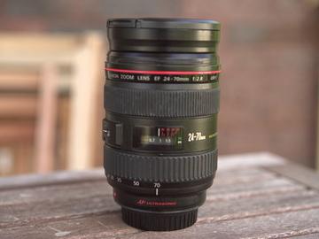 Rent: Canon EF 24-70mm f/2.8 L USM Lens