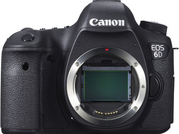 Rent: Canon 6D DSLR w/ 2 32gb SD Cards, 2 Batteries and Charger