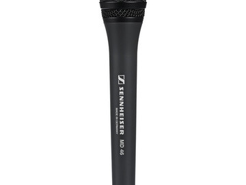 Rent: Sennheiser MD46 Stick Mic