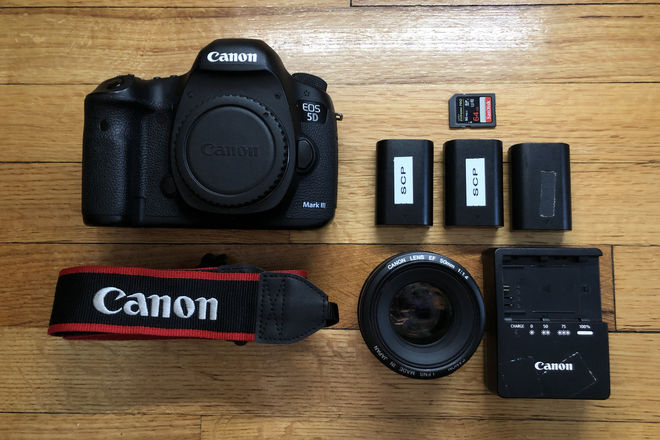 Canon EOS 5D Mark III Package