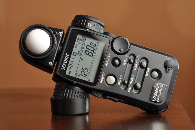 Sekonic L-758DR Digital Light Meter