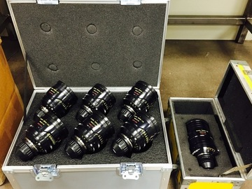 Rent: Cooke S4i Primes (Set of 5)