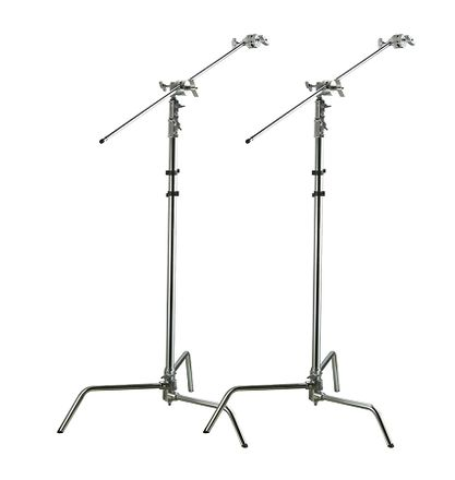2x C-Stands