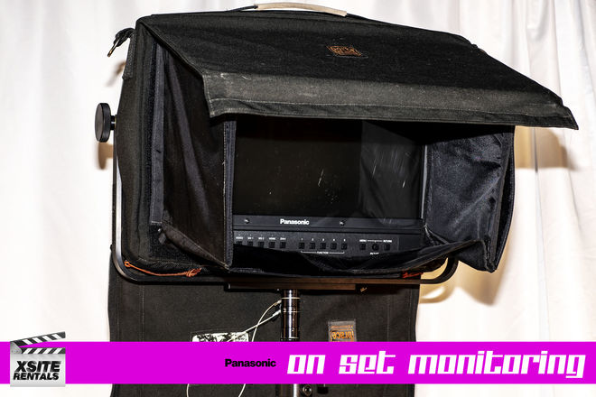 Wireless Video Village Package -Panasonic+Paralinx+Cstand