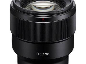 Sony 85mm 1.8 Lens