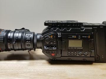 Blackmagic URSA Mini Pro W Fuji 16x 8mm Servo Lens